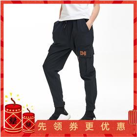 【防风防水/温暖有型】复合面料都市战术裤