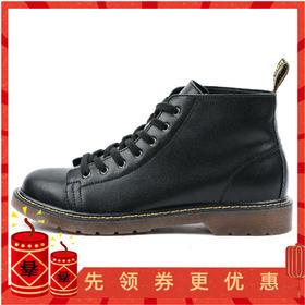 【硬汉型男必备】百搭帅气高帮马丁靴