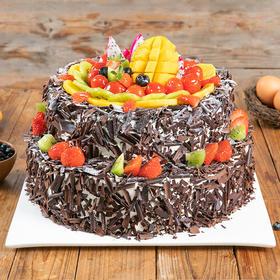 双层6磅森林果乐 蛋糕  (柳州)