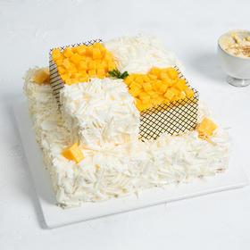 双层6磅榴芒双拼 蛋糕 (柳州)