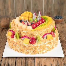 双层6磅全心全意 蛋糕 (南宁)